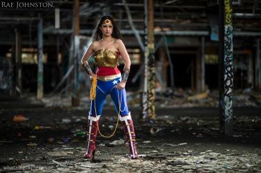 Rae Johnston as Injustice Wonder Woman